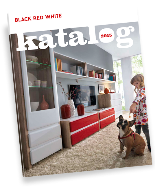 Katalog z meblami Black Red White