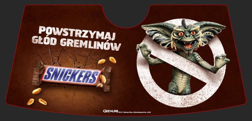 darmowa mata przeciwsloneczna - darmowe gadzety Snickers