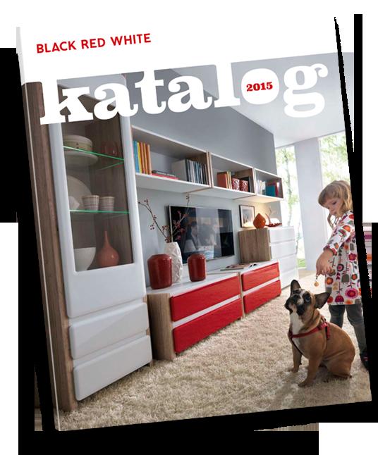 Katalog z meblami Black Red White