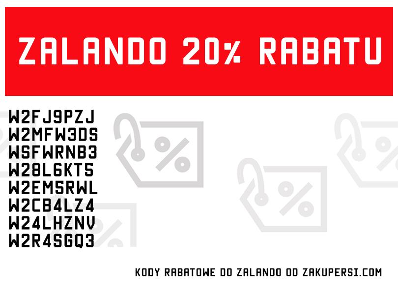 Kody rabatowe Zalando 20% 2015