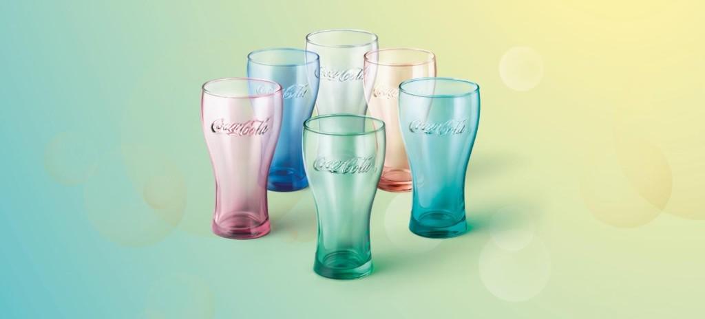 Darmowe szklanki Coca Cola