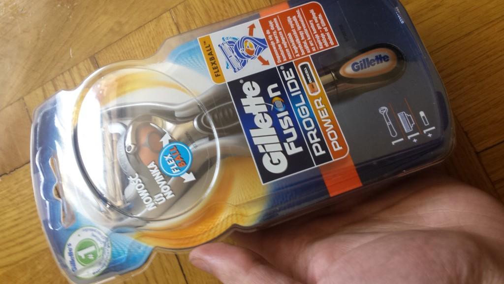 Darmowa maszynka Gillette Fusion Proglide Power