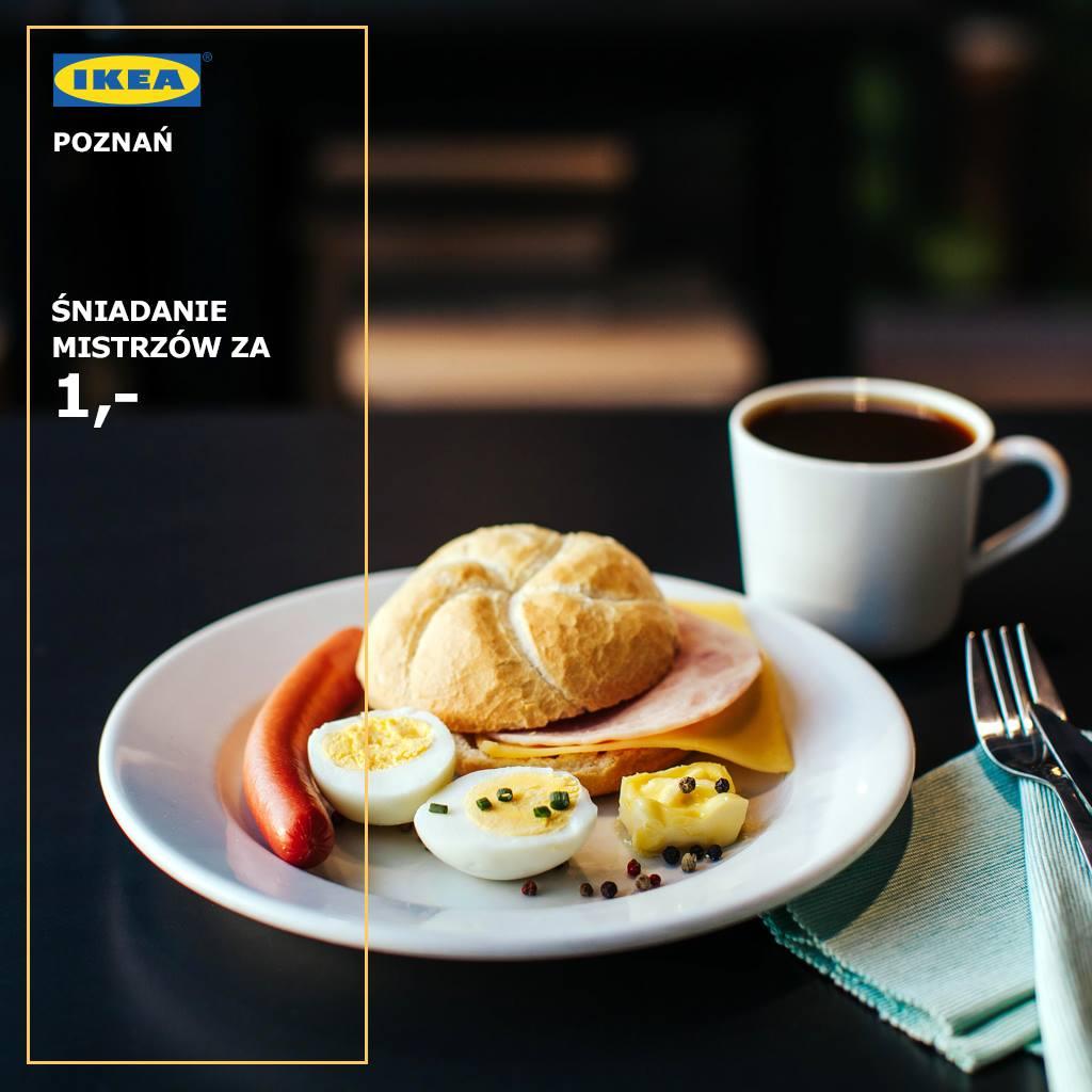 śniadanie w ikea za 1 pln