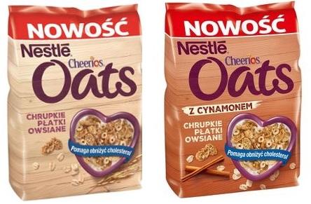 testowanie płatków śniadaniowych Nestle