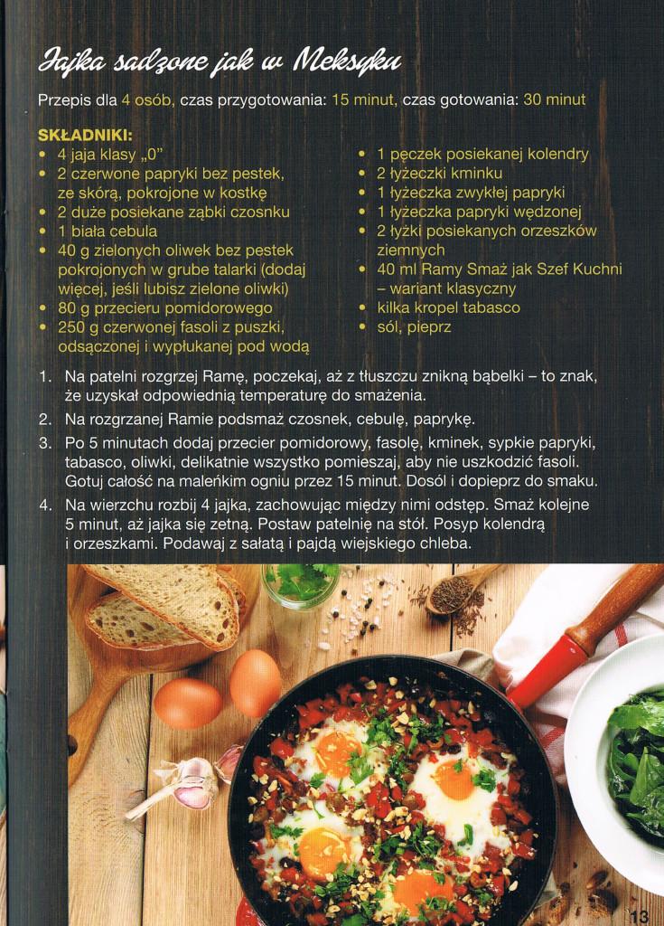 przepis jajka sadzone po meksykansku