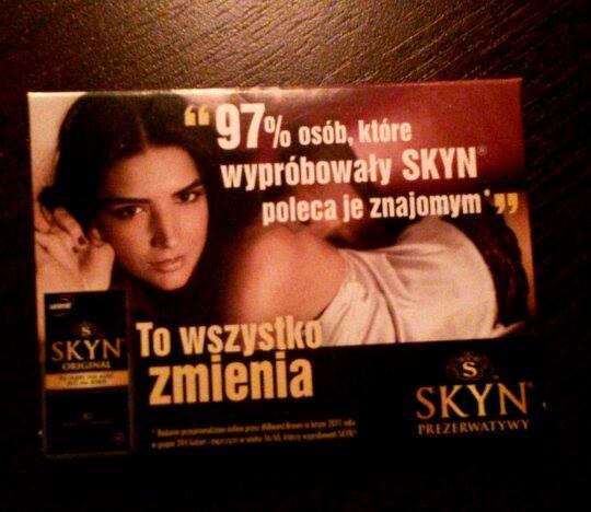 darmowa próbka prezerwatyw Unimil Skyn