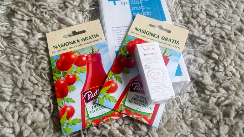 darmowe kosmetyki i nasiona 2016