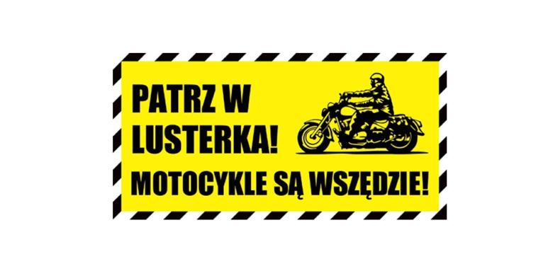 darmowa naklejka motocykle są wszędzie od moto oxford
