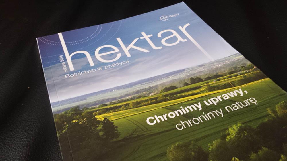 bezplatne czasopismo dla rolnikow hektar od bayer