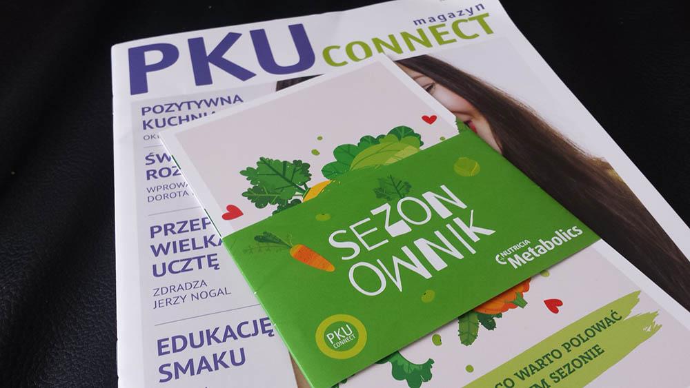 bezplatne czasopismo pku connect - darmowy gadzet z nowalijkami
