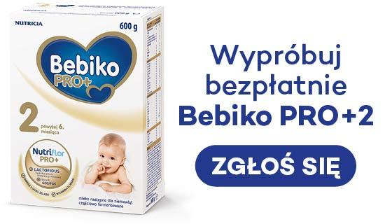 próbki mleka dla dzieci Bebiko
