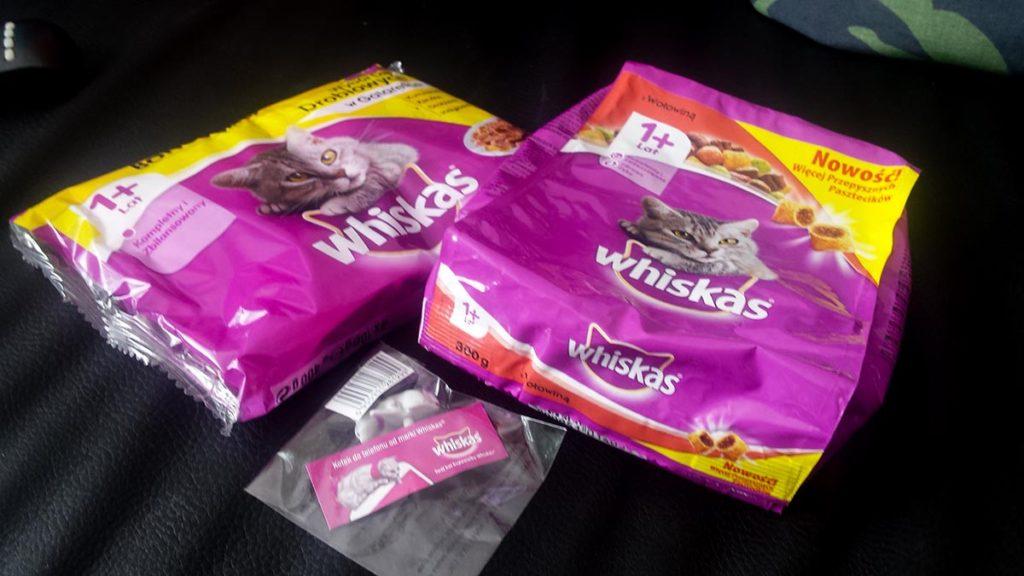darmowa karma dla kota whiskas - probki