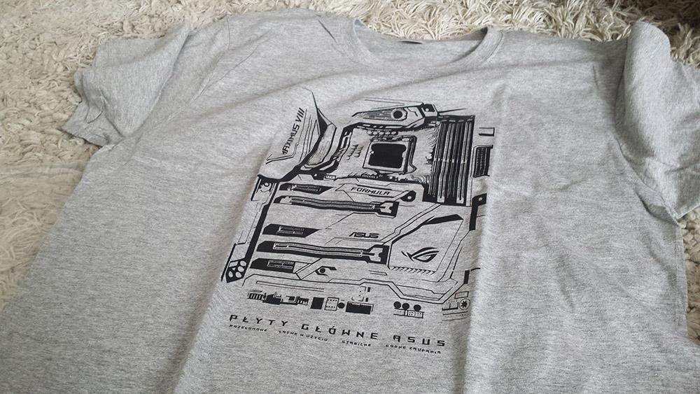 darmowa koszulka asus
