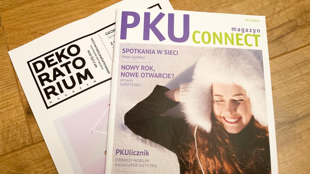 bezpłatne magazyny dekoratorium i pku connect