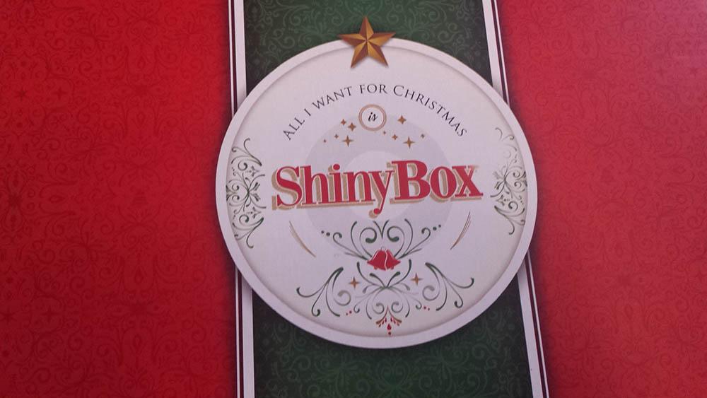 grudniowe pudełko shinybox z kosmetykami 2016-2017