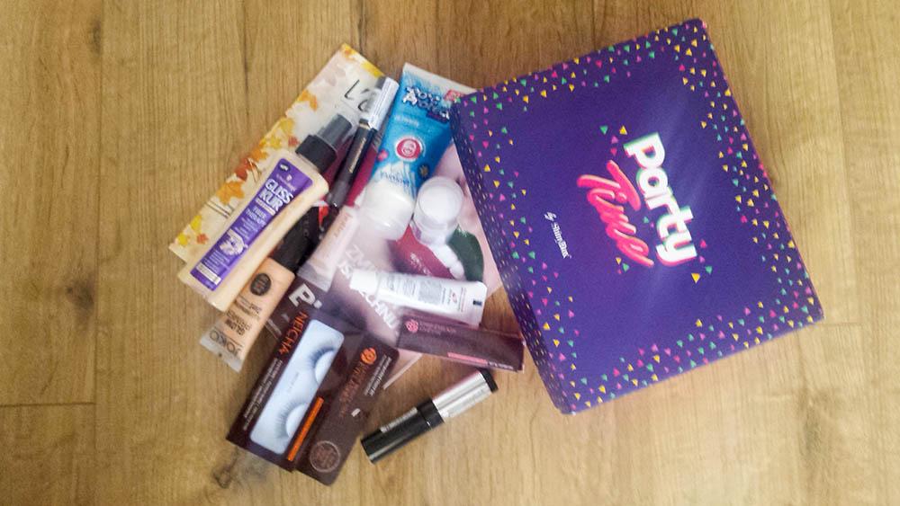 darmowe pudełko z kosmetykami Shinybox