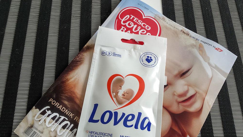 próbki Lovela z Tesco