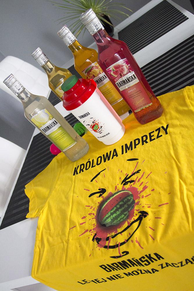 zestaw darmowy alkohol barmanska