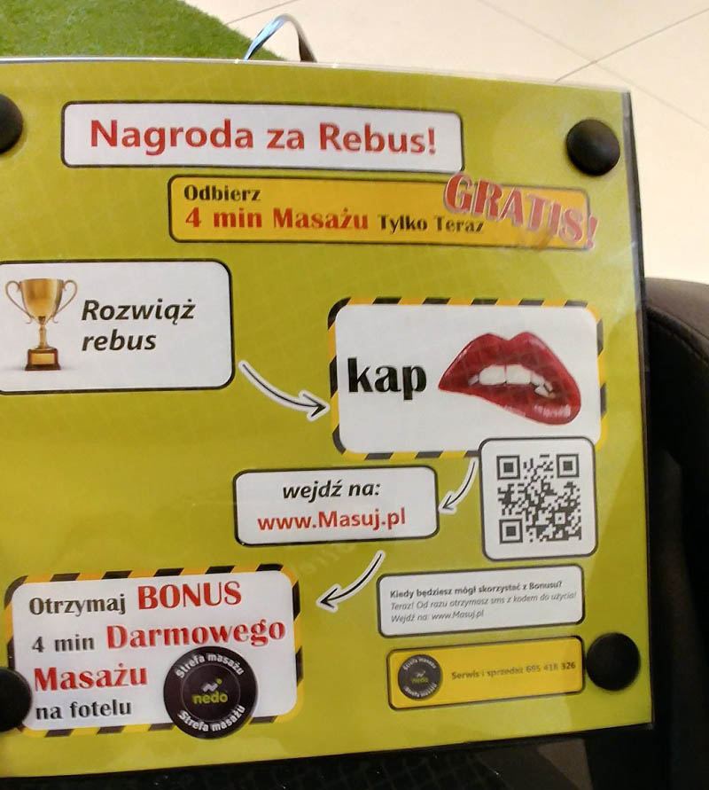 darmowy masaż gratis od nedo w gdańsku