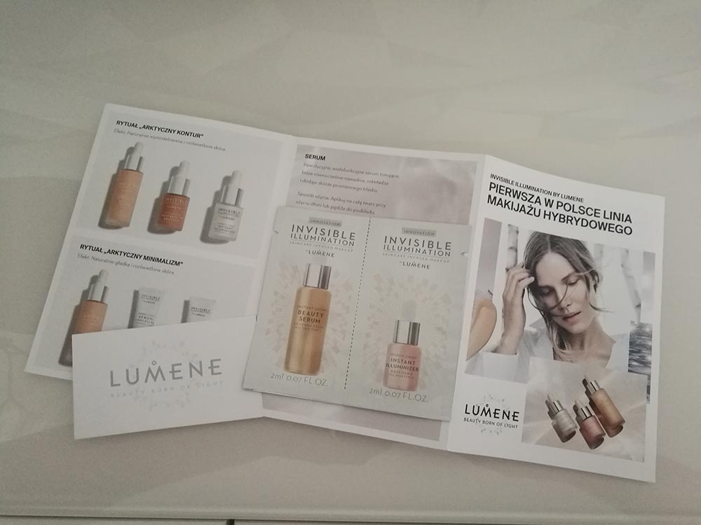 próbki kosmetyków lumene