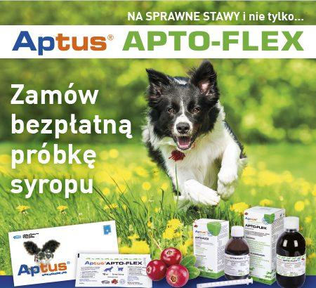 darmowa próbka aptus syrop na stawy dla kota i psa