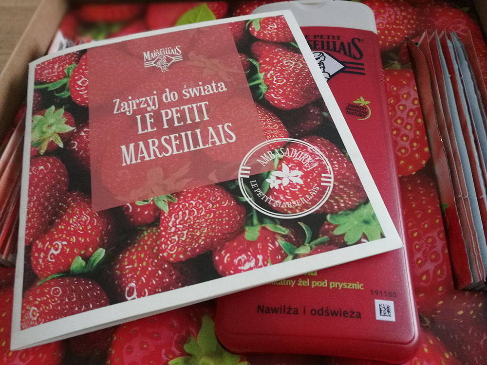 ambasadorka Le Petit Marseillais testowanie za darmo