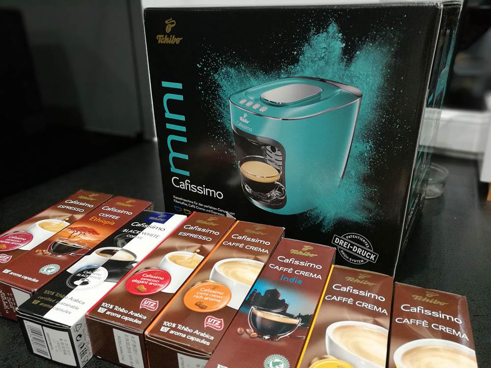 testowanie ekspresu do kawy cafissimo