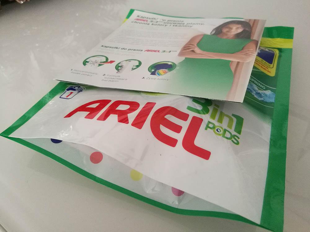 darmowe próbki ariel