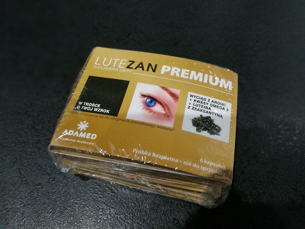 próbki suplementu na oczy lutezan premium