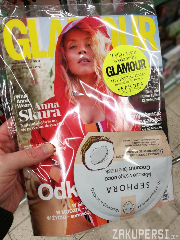 darmowa próbka maseczki Sephora w Glamour