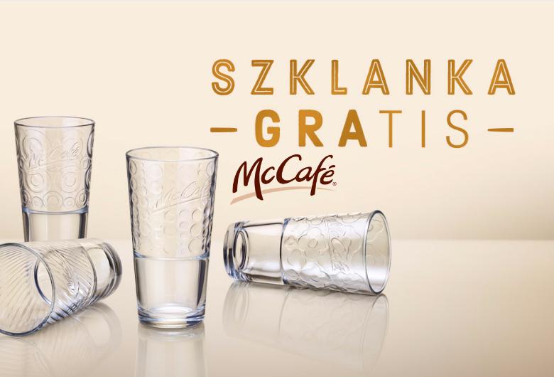 darmowa szklanka mcdonalds mccafe gratis