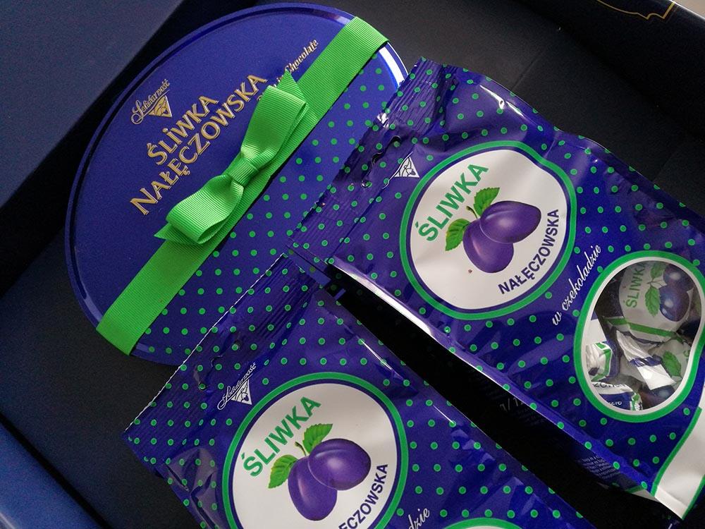 darmowe słodycze śliwka Nałęczowska Solidarność
