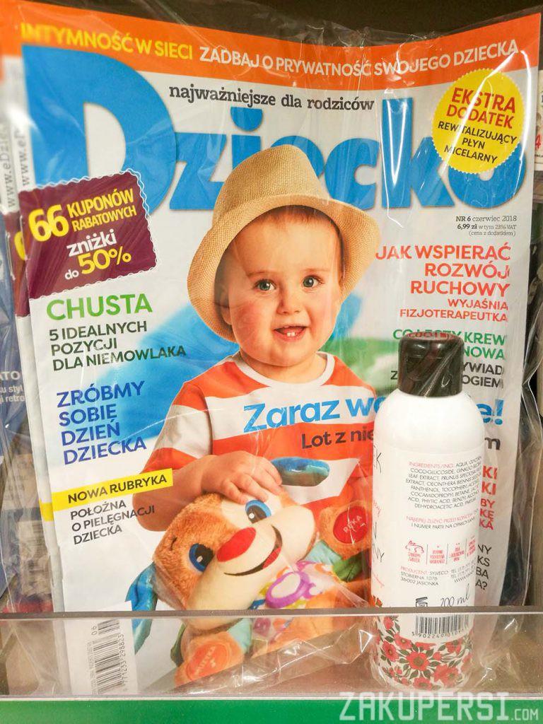 darmowa próbka kosmetyków vianek w czasopiśmie dziecko