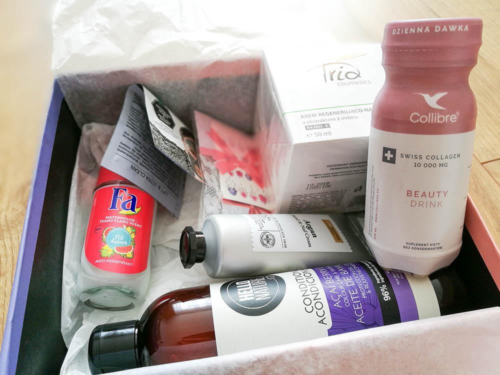 pudełko z kosmetykami shinybox lipiec 2018