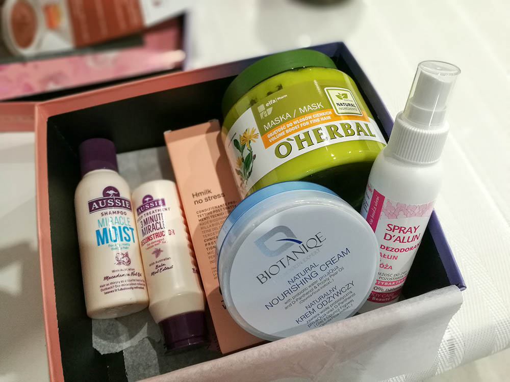 pudełko z kosmetykami shinybox wrzesień 2018