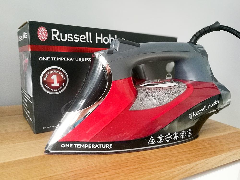 russell hobbs żelazko testowanie
