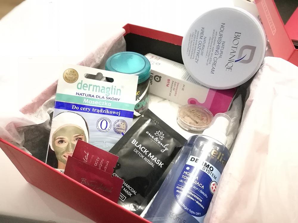 kosmetyki shinybox na grudzień 2018