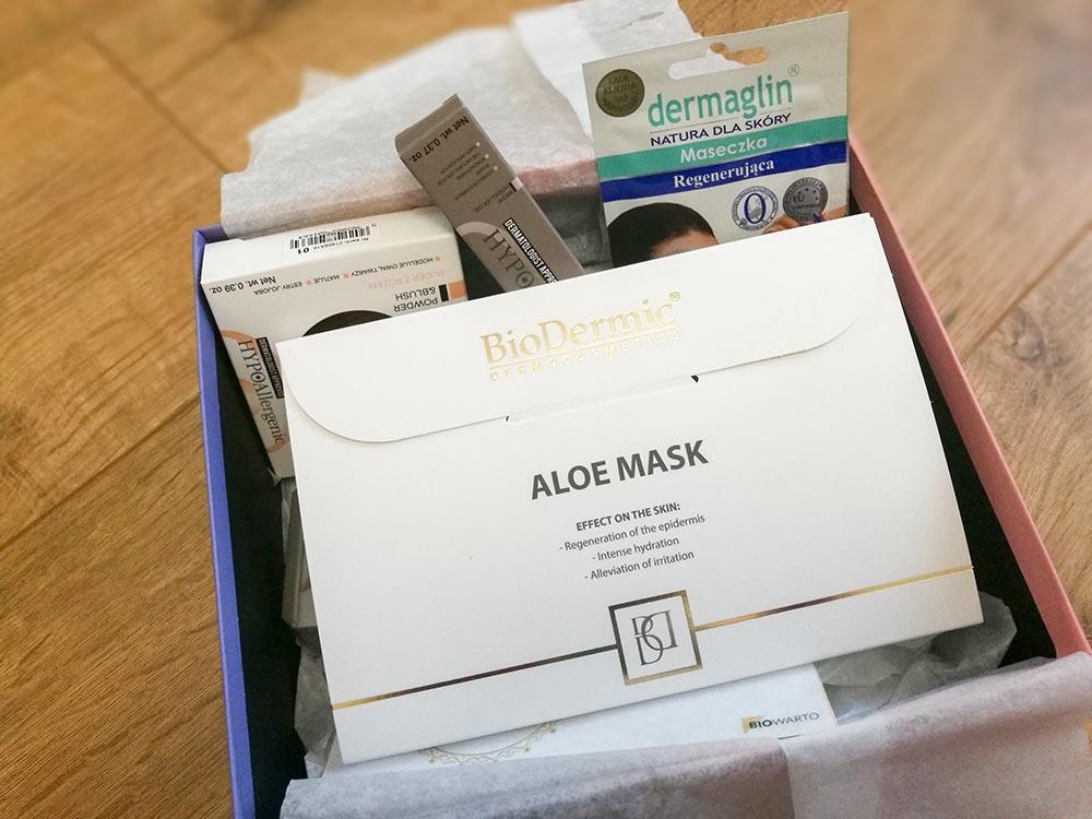 pudełko z kosmetykami shinybox styczeń 2019