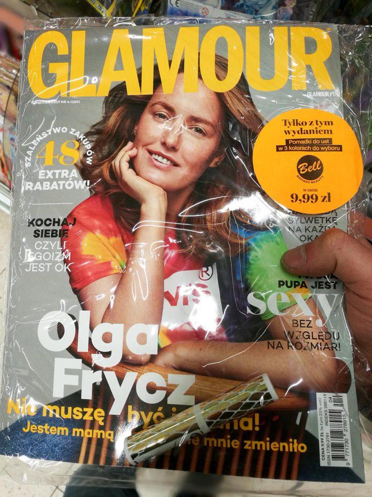 pomadka w glamour kwiecień 2019