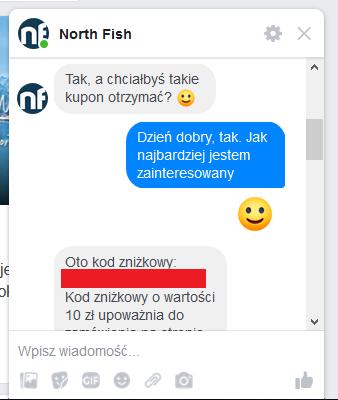 north fish kupon do pyszne