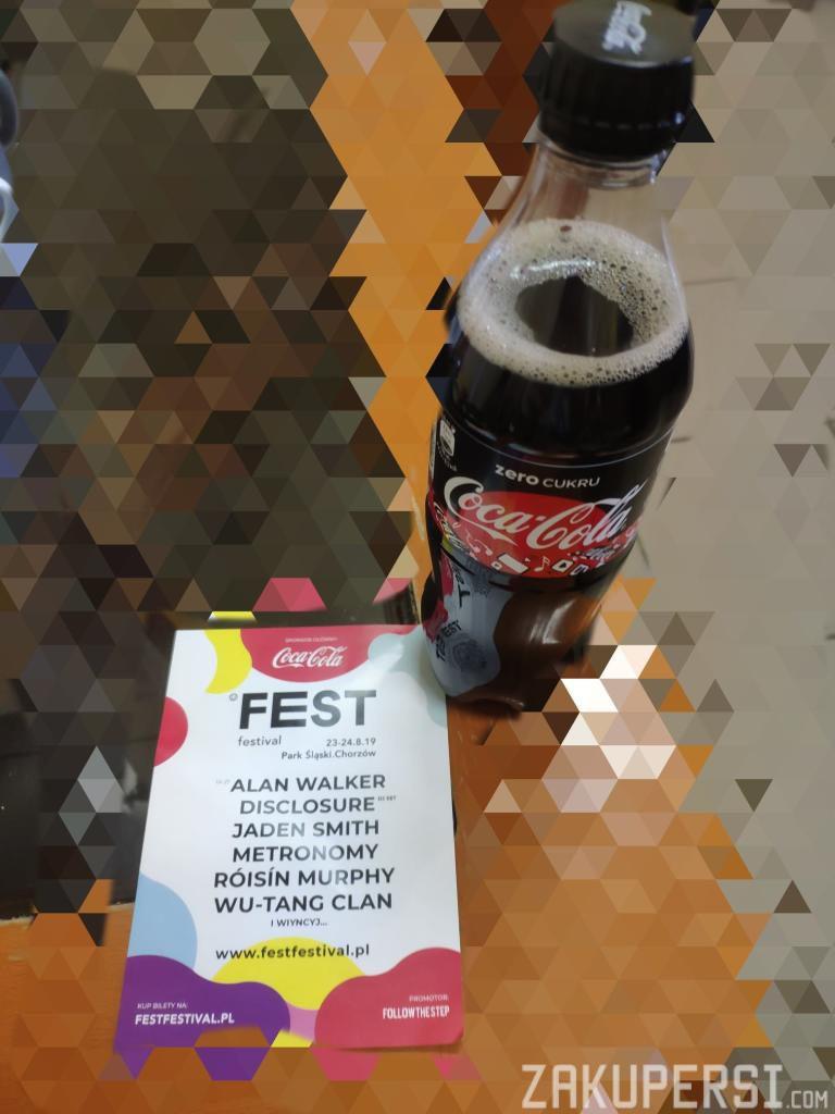darmowa coca cola zero