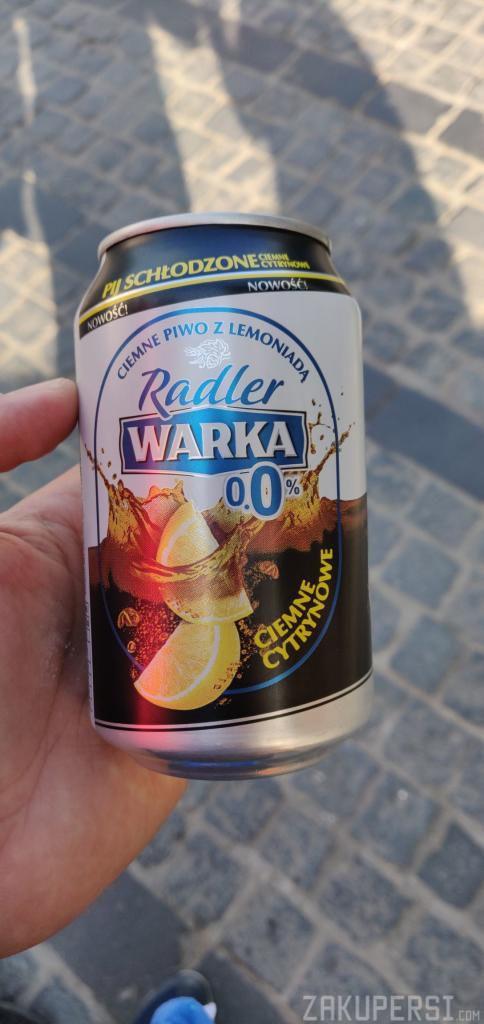 darmowe piwo warka radler