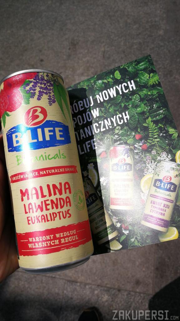 darmowy napój b-life