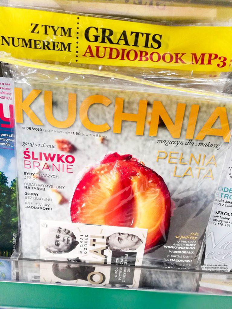 audiobook gratis czasopismo kuchnia