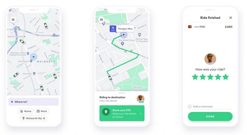 jak działa aplikacja z taxi bolt