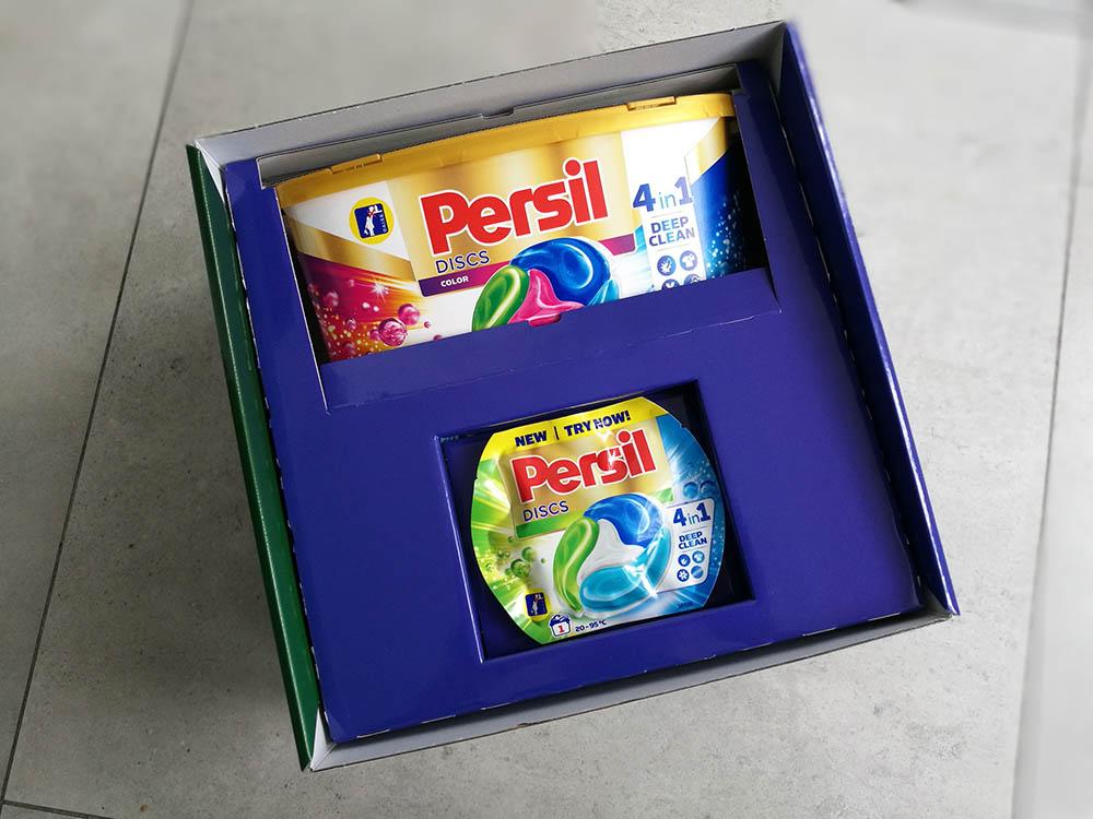 pudełko z kapsułkami do prania persil streetcom