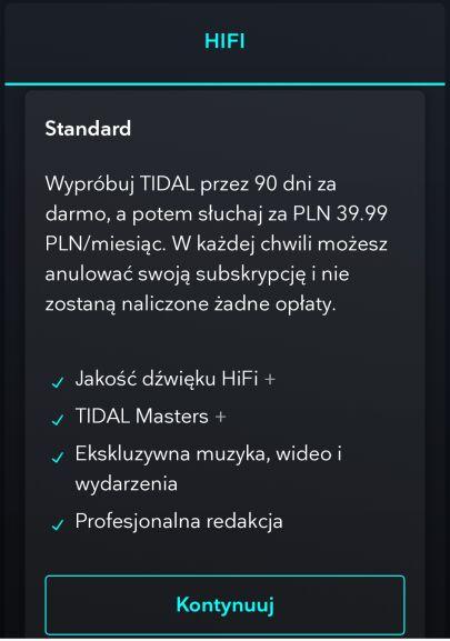 tidal za free