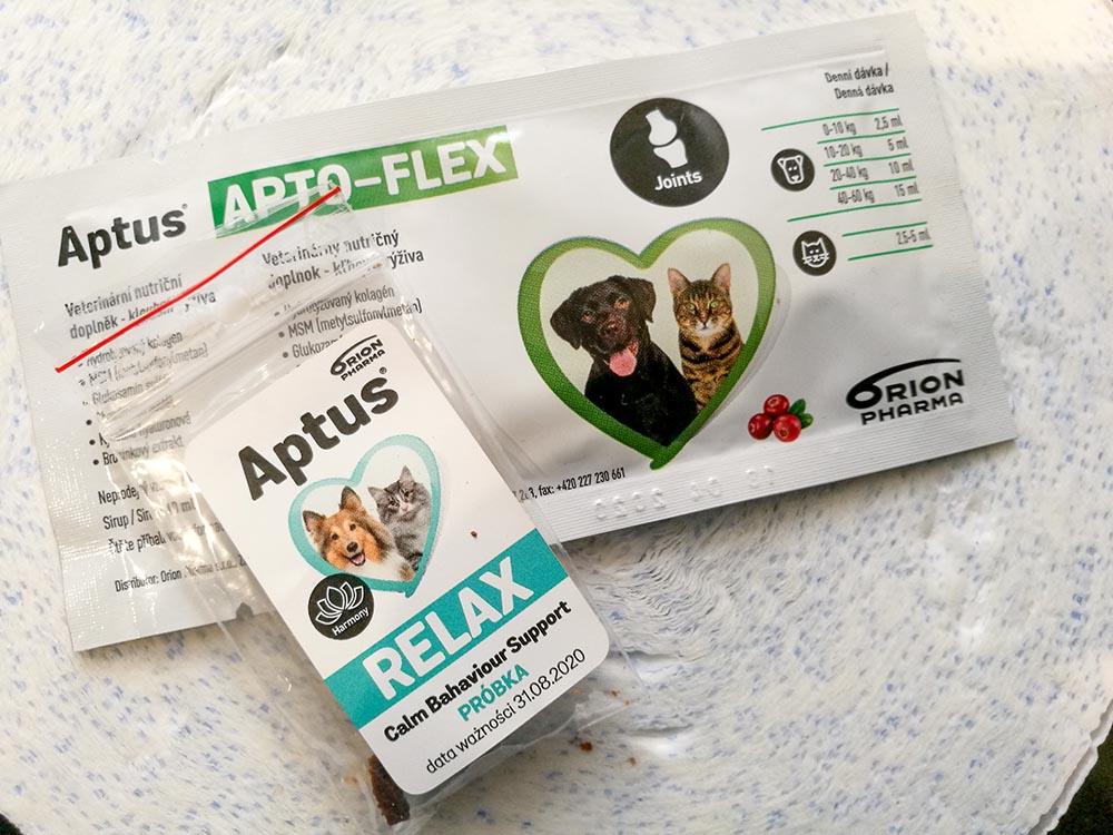 próbki dla psa aptus
