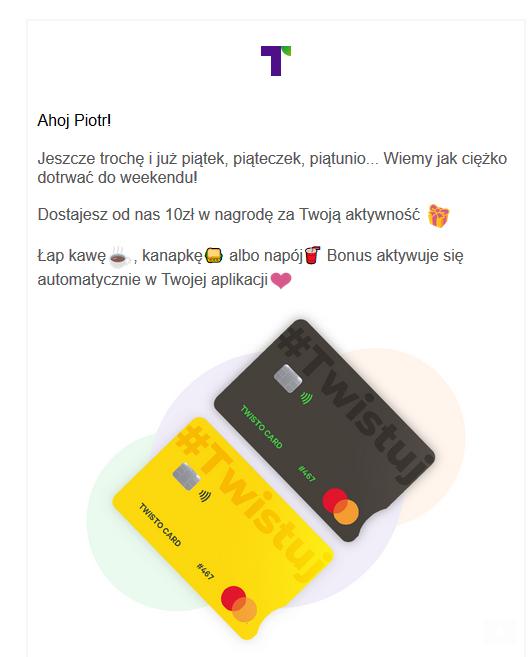 darmowe pieniądze od twisto 10 pln