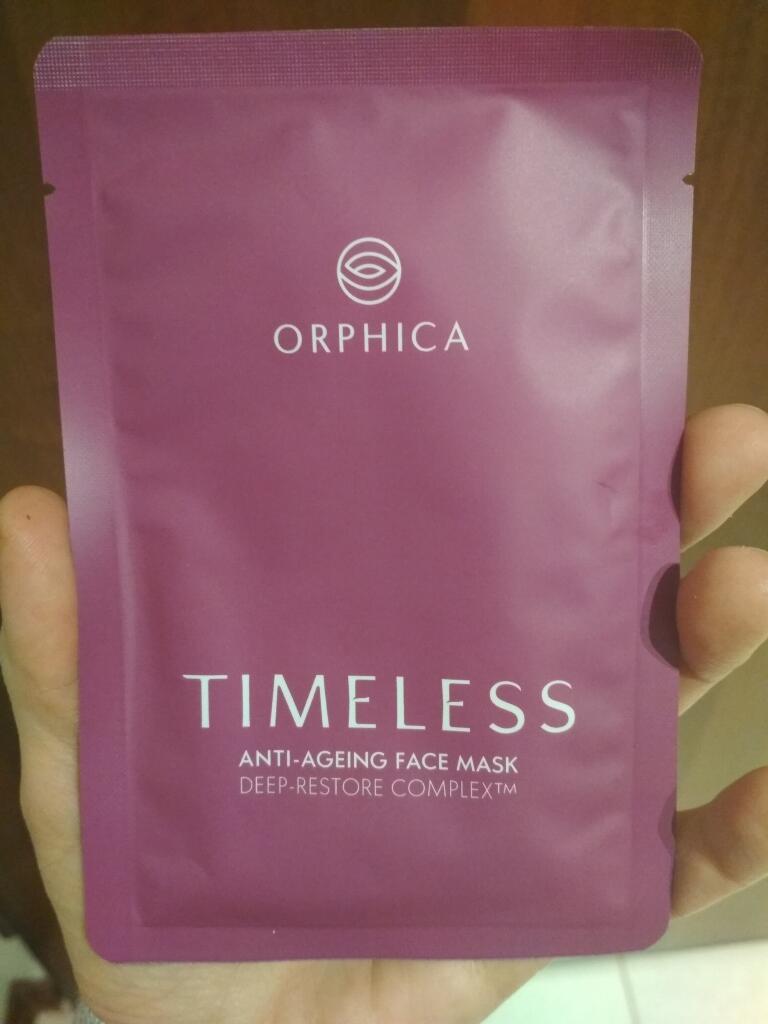próbka maski timeless orphica
